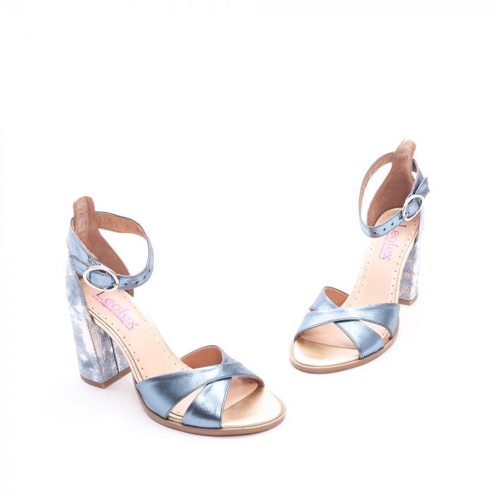 Sandale dama  LFX 148 blue sidef 1