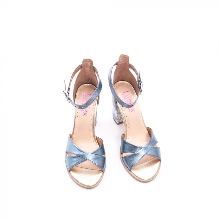 Sandale dama  LFX 148 blue sidef 5