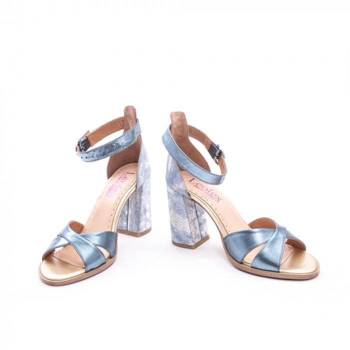 Sandale dama  LFX 148 blue sidef 4