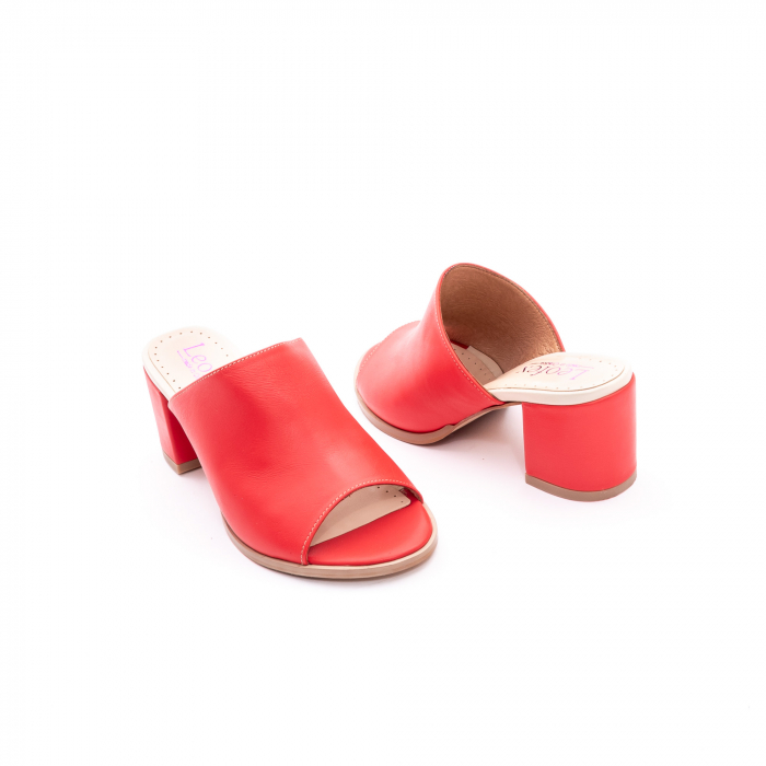 Sandale dama LFX 226 rosu box 3