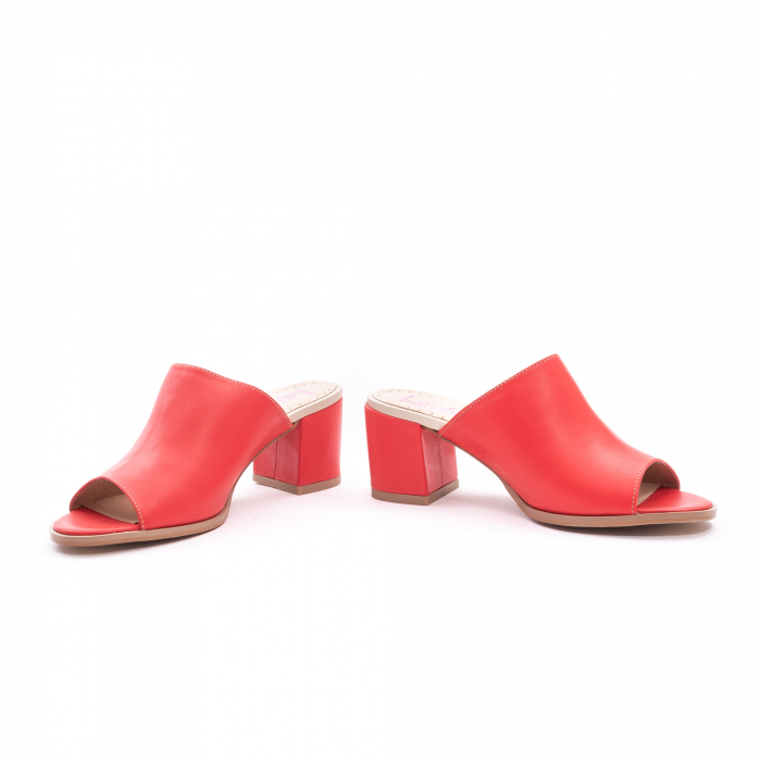 Sandale dama LFX 226 rosu box 4