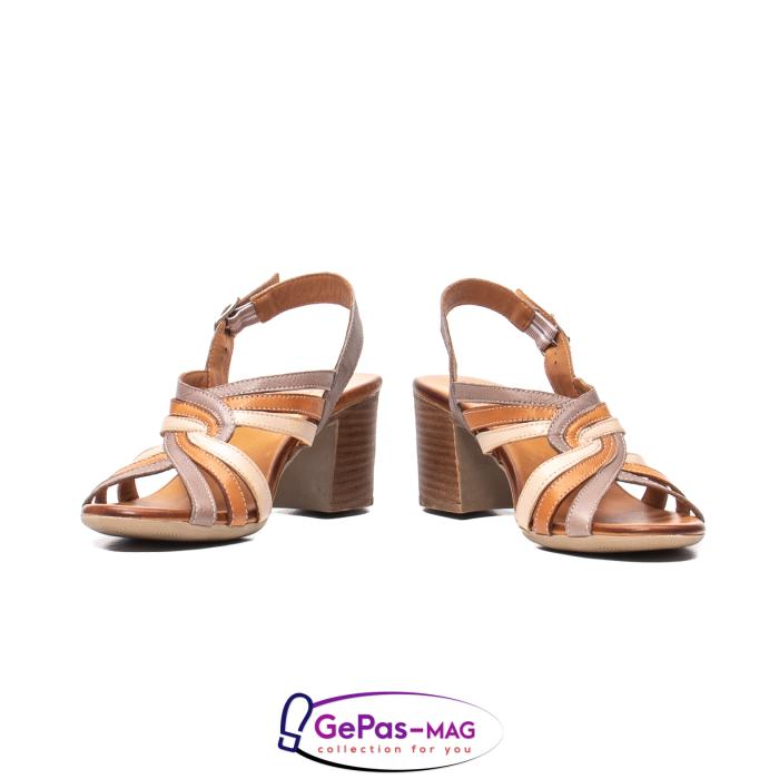 Sandale dama, piele naturala, 09030 H6 4