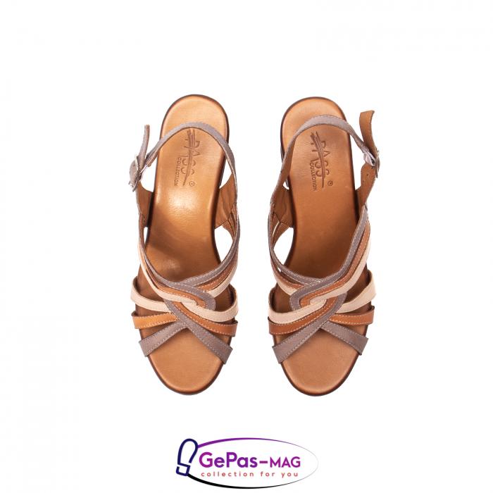 Sandale dama, piele naturala, 09030 H6 5