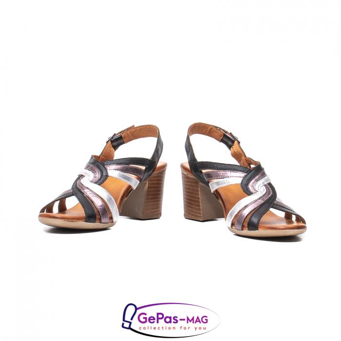 Sandale dama, piele naturala, 09030 L2 4