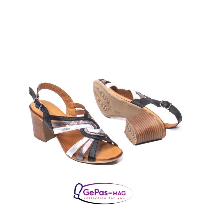 Sandale dama, piele naturala, 09030 L2 3