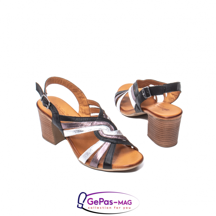 Sandale dama, piele naturala, 09030 L2 2