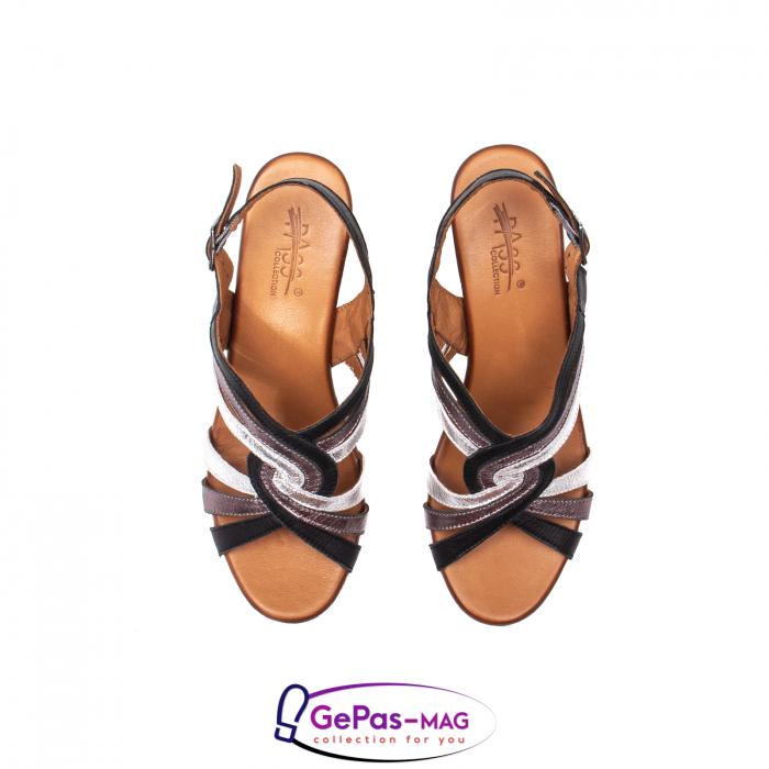 Sandale dama, piele naturala, 09030 L2 5