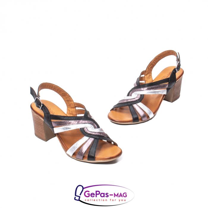 Sandale dama, piele naturala, 09030 L2 1
