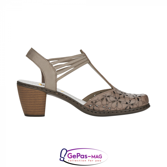 Sandale dama, piele naturala 40966-64 [3]