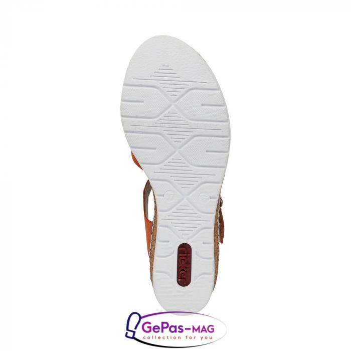 Sandale dama, piele naturala nubuc, V3863-38 2