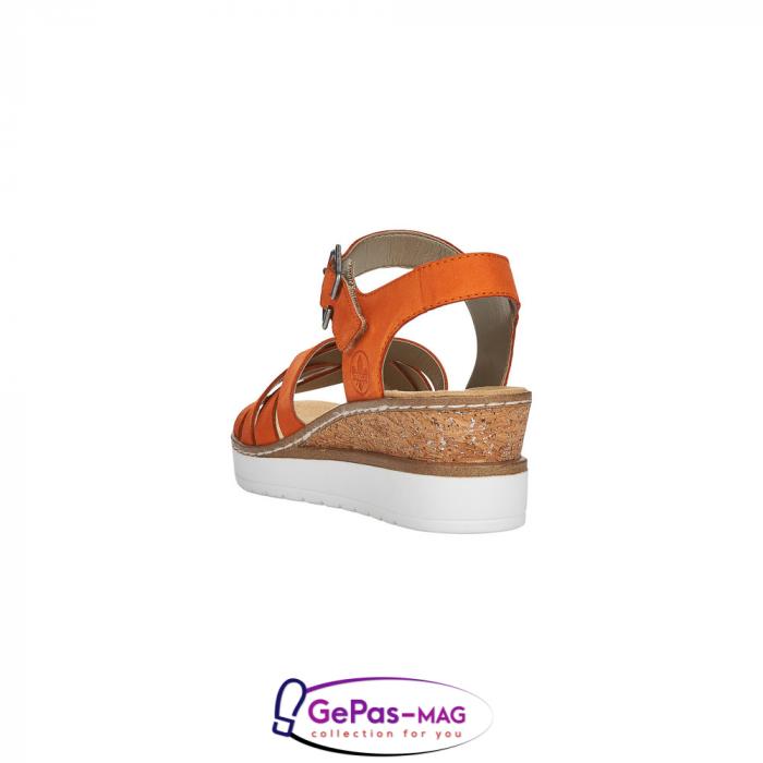 Sandale dama, piele naturala nubuc, V3863-38 4