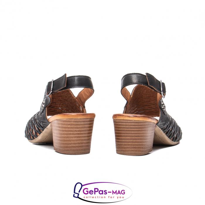 Sandale dama, piele naturala, O9030 01-N 6