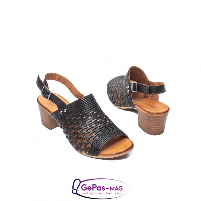 Sandale dama, piele naturala, O9030 01-N 2