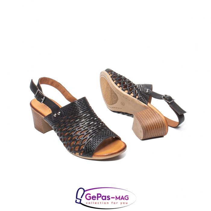 Sandale dama, piele naturala, O9030 01-N 3