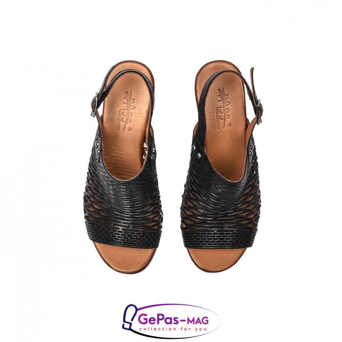 Sandale dama, piele naturala, O9030 01-N 5