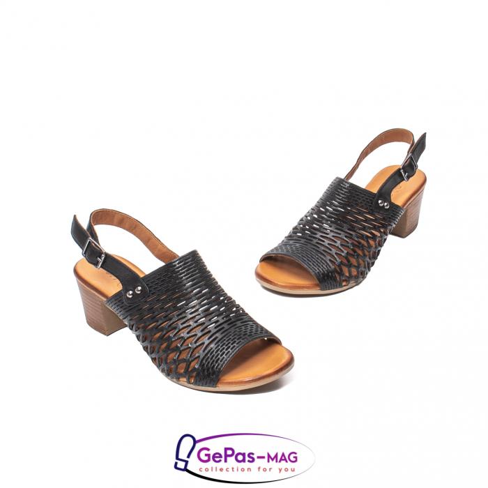 Sandale dama, piele naturala, O9030 01-N 1
