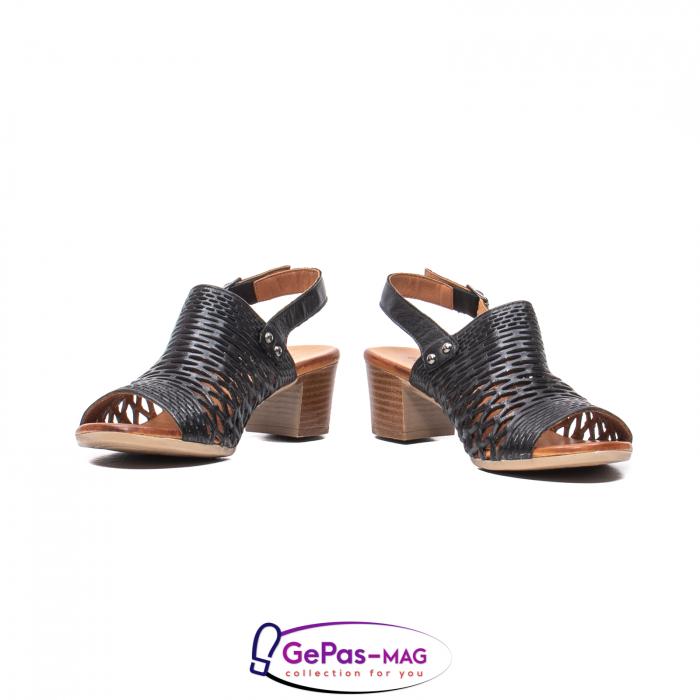Sandale dama, piele naturala, O9030 01-N 4