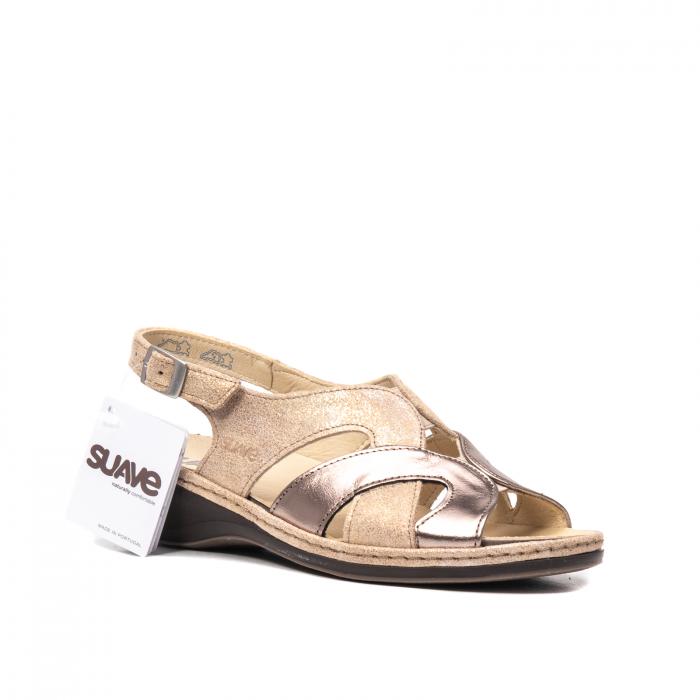 Sandale dama, piele naturala, SU0900 Paris 0