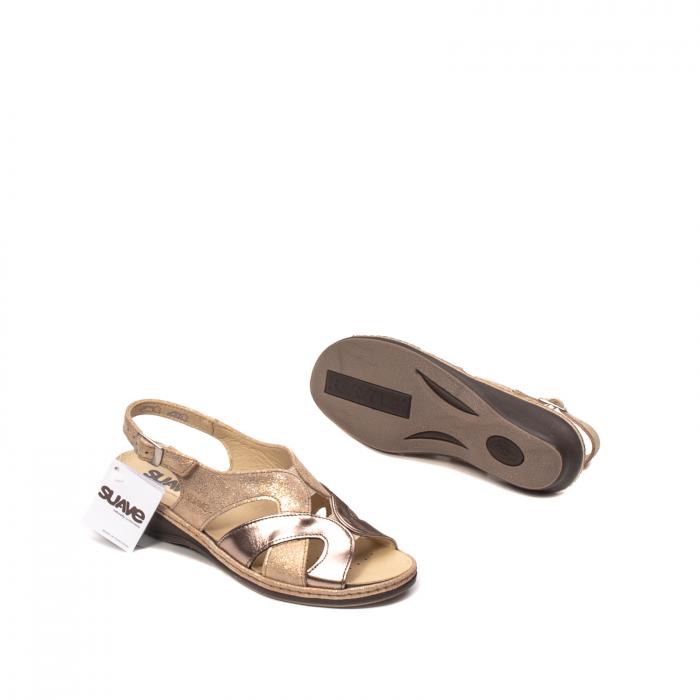 Sandale dama, piele naturala, SU0900 Paris 3
