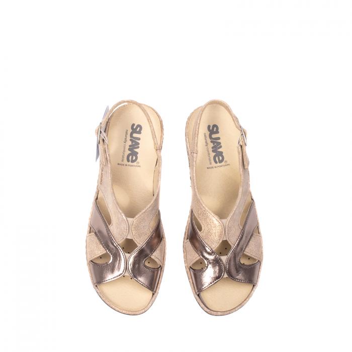 Sandale dama, piele naturala, SU0900 Paris 5