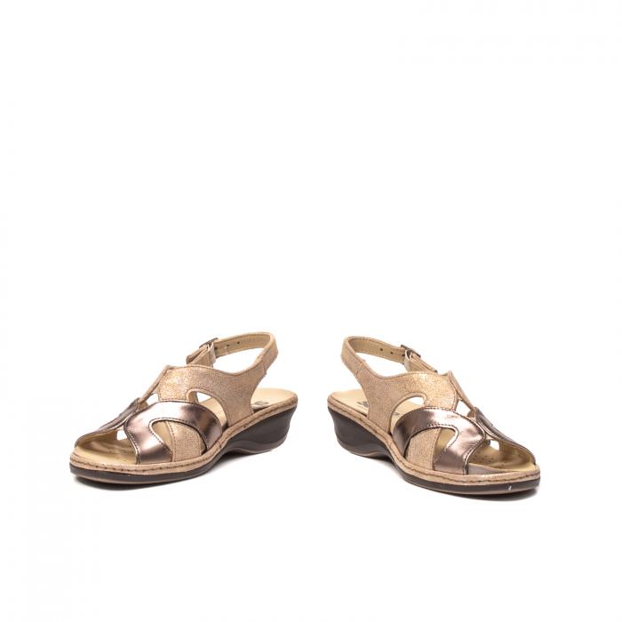 Sandale dama, piele naturala, SU0900 Paris 4