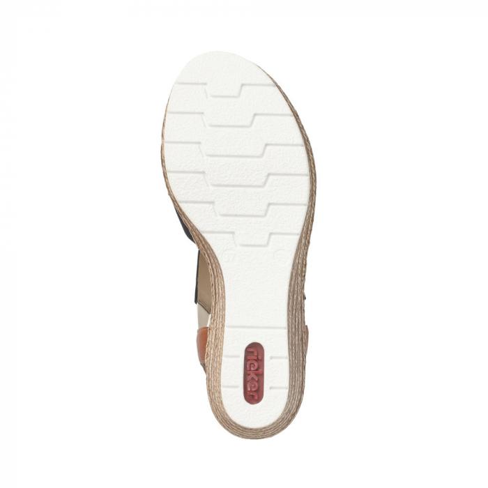 Sandale dama elegante, RIK-619S6-14 4