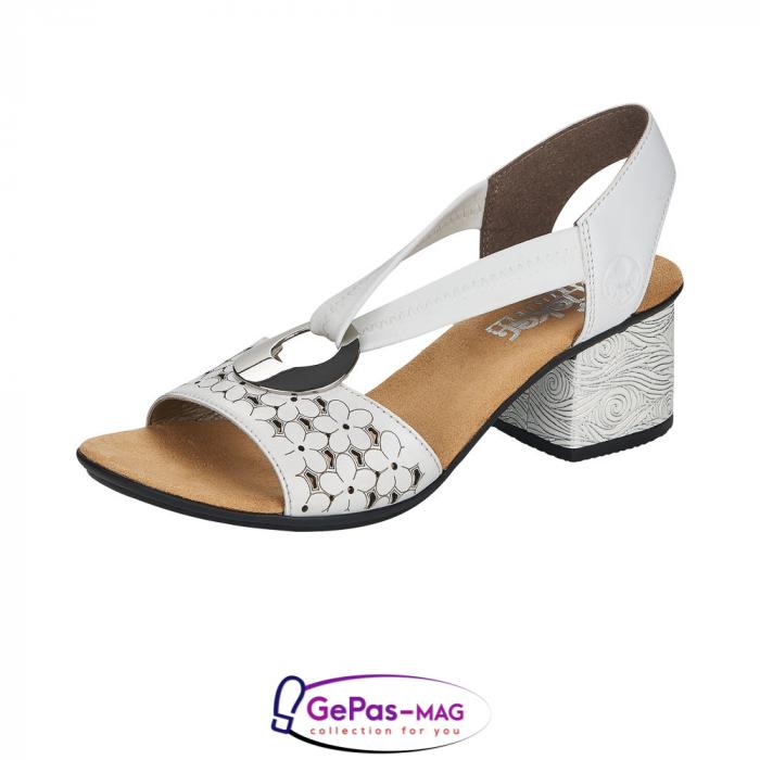 Sandale elegante dama piele naturala, 64677-80 0
