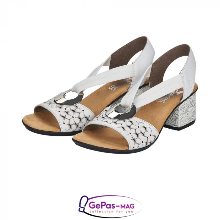 Sandale elegante dama piele naturala, 64677-80 6