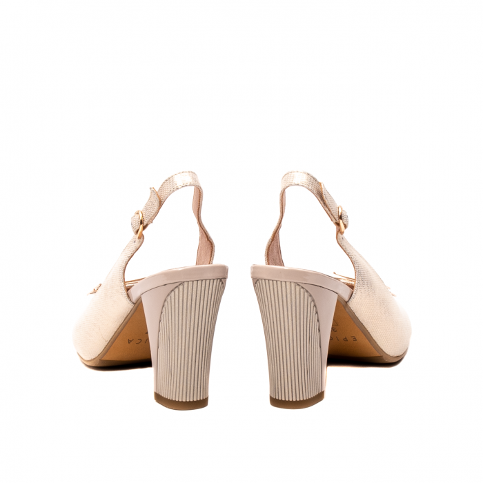 Sandale dama elegante, piele naturala, EP Y074T 6