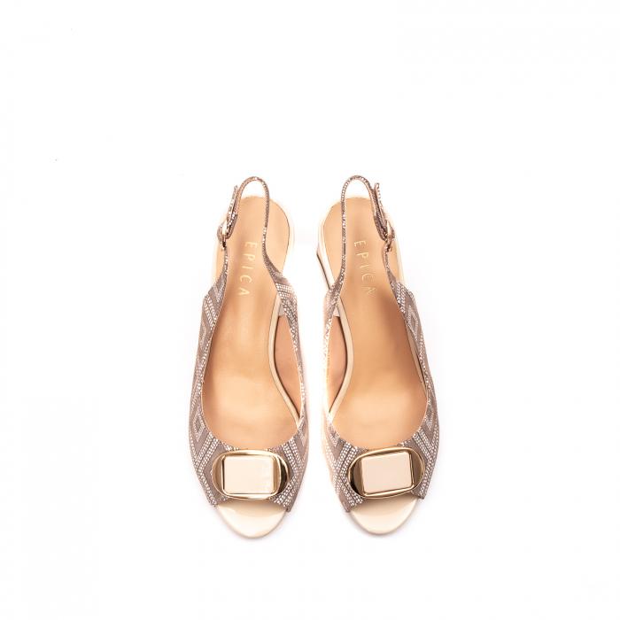 Sandale dama elegante, EP-HM1F1204 5