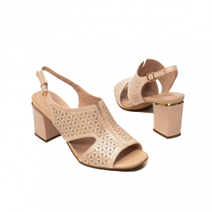 Sandale elegante dama, piele naturala, JIXL493 [2]