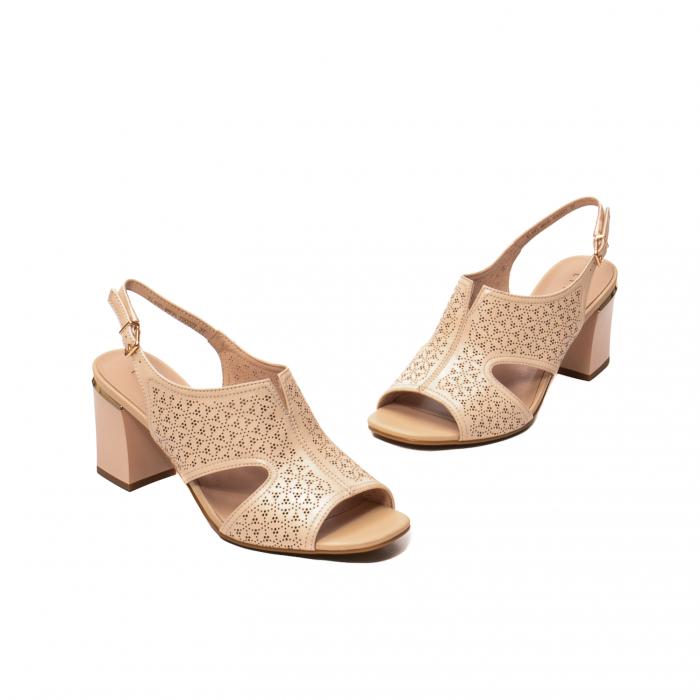 Sandale elegante dama, piele naturala, JIXL493 [1]