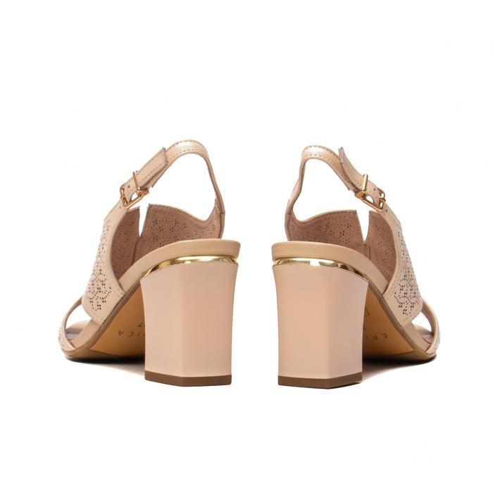 Sandale elegante dama, piele naturala, JIXL493 [6]