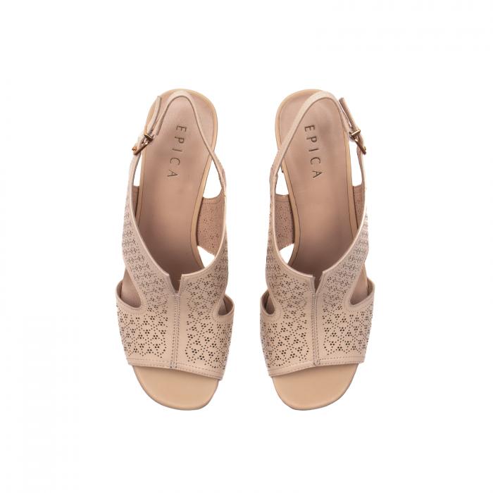 Sandale elegante dama, piele naturala, JIXL493 [5]