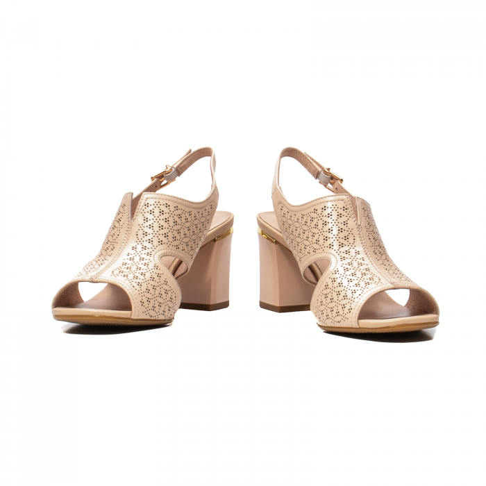 Sandale elegante dama, piele naturala, JIXL493 [4]