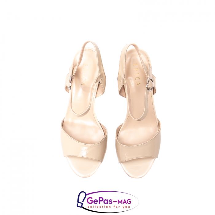 Sandale elegante dama, piele naturala naplac, B218J426-6312 [5]