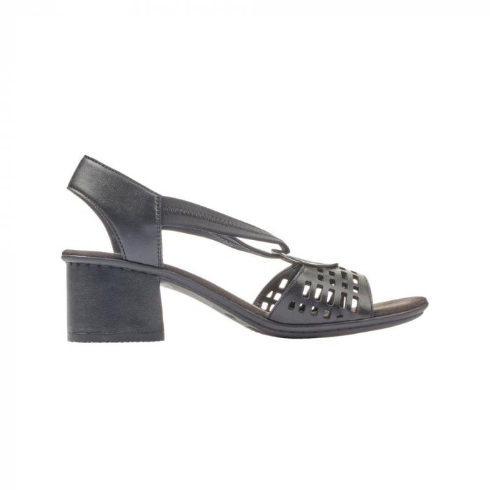 Sandale dama elegante, piele naturala, RIK 64675-00 3