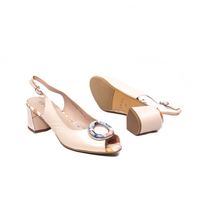 Sandale elegante dama, piele naturala, Y002BT [3]