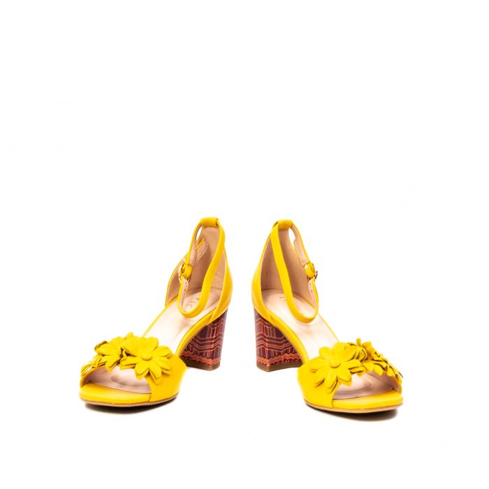 Sandale dama elegante, piele naturala, Y137T 4