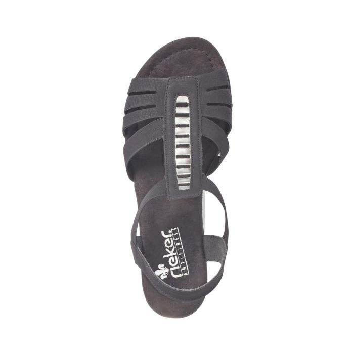 Sandale dama elegante, RIK-V6264-00 5