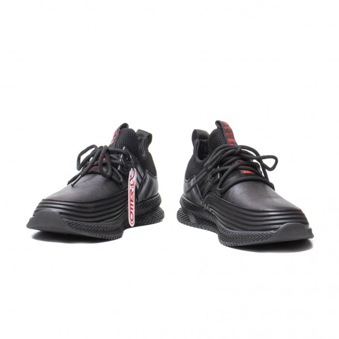 Sneakers barbati, piele naturala, J22033-1 [4]