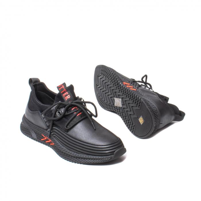 Sneakers barbati, piele naturala, J22033-1 [3]
