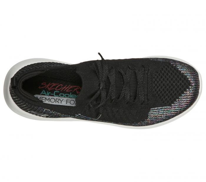Pantofi sport dama Sneakers Ultra Flex ,laser focus 149064 BKSL 1