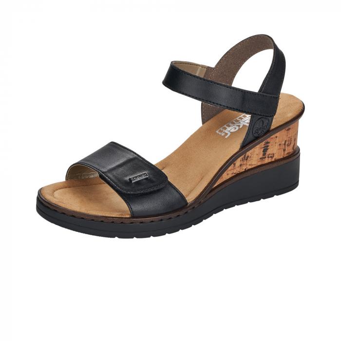 Sandale dama, piele naturala V3554-00 0