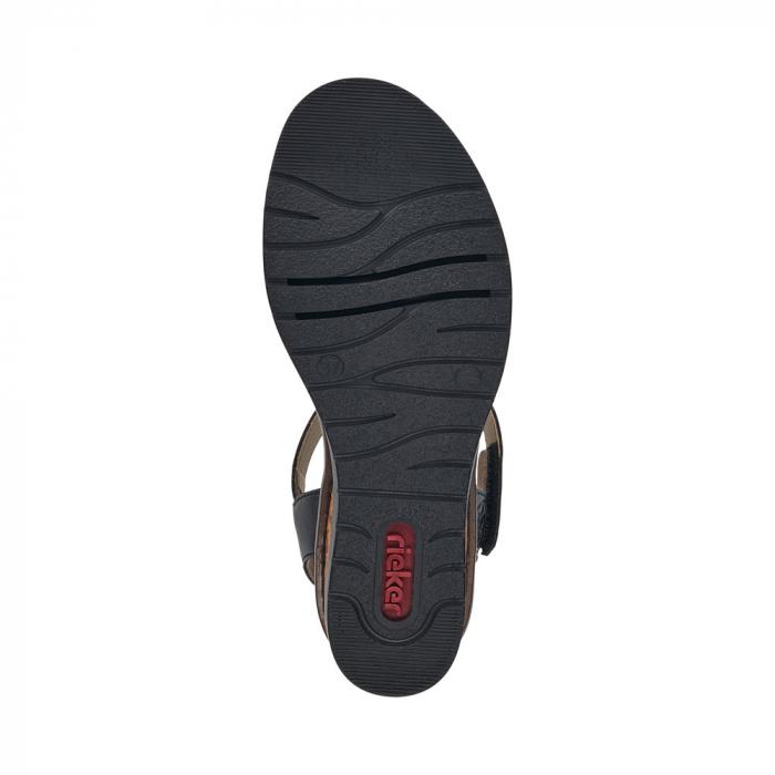 Sandale dama, piele naturala V3554-00 5