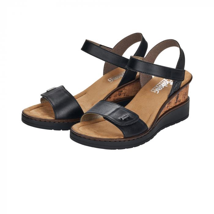 Sandale dama, piele naturala V3554-00 6