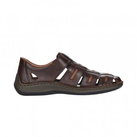 Sandale barbati, piele naturala, 05288-251