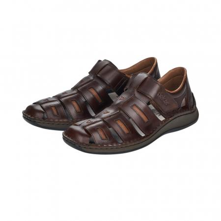 Sandale barbati, piele naturala, 05288-256
