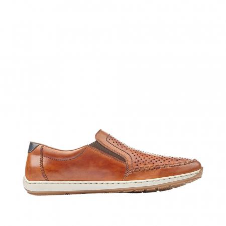 Pantofi barbat tip mocasin, piele naturala 08868-24 [1]