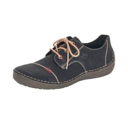 Pantofi dama casual, piele naturala, 52520-000